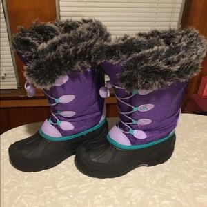 Artic cat ice face girls winter boots size 5.